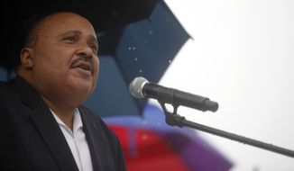 "Martin Luther King III told The Washington Times he believes that Washington can combat poverty without creating a welfare state. The key, he said, is generating new opportunities for the poor, and the first step should be to appoint a ""poverty czar"" to focus on poverty-stricken Americans. (Associated Press)"
