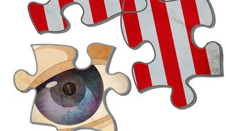 Section 215 Not Fitting the Patriot Act Puzzle Illustration by Greg Groesch/The Washington Times