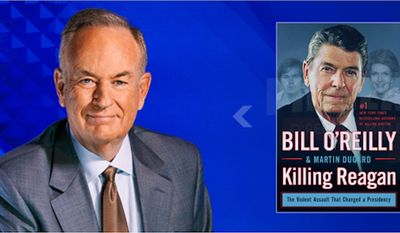 "Bill O'Reilly's next book ""Killing Reagan"" is due out on Sept. 22 (Image from Bill O'Reilly)"