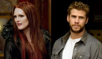 """Julianne Moore stars as the evil witch Mother Malkin in Universal Studios Home Entertainment's """"Seventh Son"""" and Liam Hemsworth stars as Dwayne McLaren in Lionsgate Home Entertainment's """"Cut Bank."""""""