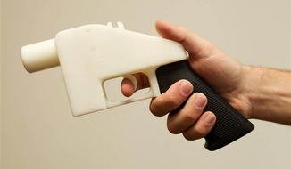 Defense Distributed developed the first functioning 3-D printable pistol, called the Liberator. The U.S. State Department eventually demanded the blueprints for the weapon be pulled down from the Internet.