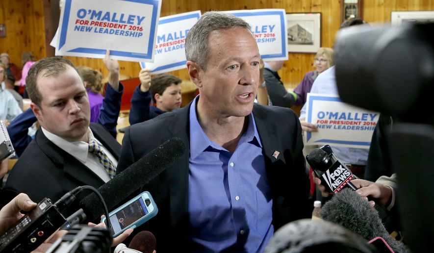 Former Maryland Gov. Martin O'Malley is targeting liberal activists who don't trust Hillary Rodham Clinton's close ties to Wall Street and corporate America, Hispanics voters who remain leery of her commitment to immigration reform after years of bucking them on the issue, and young voters who likely hold no allegiance to the Clinton brand. (Associated Press)