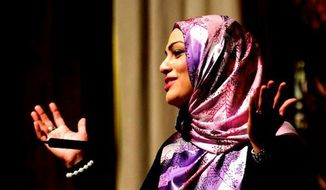 Tahera Ahmad, a Muslim chaplain at Chicago's Northwestern University, has prompted calls for a boycott against United Airlines after she claimed she was discriminated against over a can of Diet Coke. (Facebook/Tahera Ahmad)