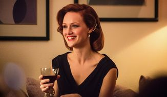 """This photo provided by AMC shows, Kerry Bishe as Donna Clark, is season 2 of """"Halt and Catch Fire."""" (Richard DuCree/AMC via AP)"""