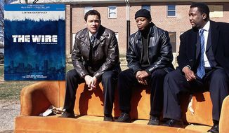 Dominic West, Lawrence Gilliard, Jr. and Wendell Pierce star in The Wire: The Complete Series, now on Blu-ray from HBO Home Entertainment.