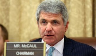 House Homeland Security Chairman Rep. Mike McCaul. (Associated Press) ** FILE **