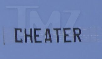 "TV chef Bobby Flay received a star on the Hollywood Walk of Fame on Tuesday as a banner that read ""cheater"" circled overhead. (TMZ)"