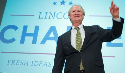 Former Rhode Island Gov. Lincoln Chafee gained a new set of supporters in the United States Metric Association after he endorsed the metric measuring system when he announced Wednesday he was entering the 2016 race for the presidential nomination. (Associated Press)