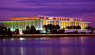 John F. Kennedy Center for the Performing Arts. ** FILE **