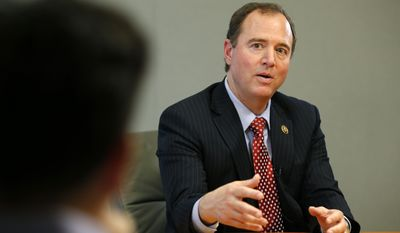 """The cyberthreat from hackers, criminals, terrorists and state actors is one of the greatest challenges we face on a daily basis, and it's clear that a substantial improvement in our cyber databases and defenses is perilously overdue,"" said Rep. Adam B. Schiff, the ranking Democrat on the House Permanent Select Committee on Intelligence. (Associated Press)"