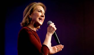 Carly Fiorina. (Associated Press)