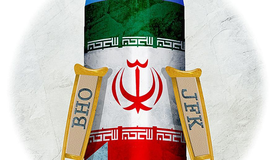 Lame Negotiations with Iran Illustration by Greg Groesch/The Washington Times