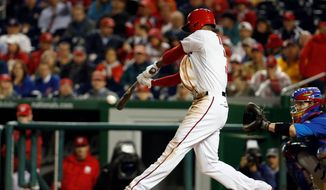 Nationals rookie outfielder Michael A. Taylor has seen his share of struggles at the plate this season, but he has cut down on his strikeouts and is getting more opportunities. (Associated Press)