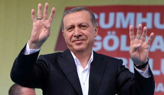 Recep Tayyip Erdogan, who has dominated the political scene for more than a dozen years, campaigned on behalf of his former party, the Islamist-rooted Peace and Development Party (AKP), appealing to voters to elect at least 300 parliamentarians to help push through a constitution that would expand his powers as an executive. But Sunday's stunning results make that a distant prospect. (Associated Press)