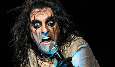 """Alice Cooper [Singer] grew up in a Christian home. After his hard partying days, he returned to the church, saying, """"I went out and the Lord led me through everything, maybe allowed it but then started reeling me back in, saying OK, you've seen enough, now let's bring you back to where you belong."""""""