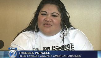 Theresa Purcell filed a lawsuit Friday morning against American Airlines after she says she was forced to get out of her wheelchair and crawl on her hands and knees onto a plane, because an agent told her it was too late to set up a ramp. (KHON 2)