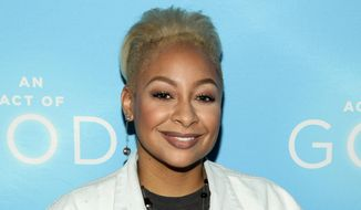 "In this May 28, 2015, file photo, actress Raven-Symone attends the Broadway opening of ""An Act Of God"" at Studio 54 in New York. Raven-Symone is now officially a co-host of ""The View."" (Photo by Andy Kropa/Invision/AP, File)"
