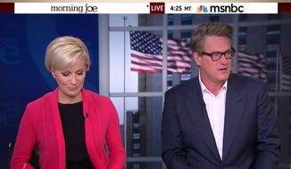 "Co-hosts of MSNBC's ""Morning Joe"" trashed The New York Times on Wednesday, saying the paper's attack piece on Republican presidential candidate Marco Rubio's so-called ""luxury speedboat"" purchase is ""a reach."" (YouTube/Daily Caller)"