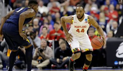 Guard Dez Wells, who played his final three collegiate seasons at Maryland, made the 25-minute drive to the Verizon Center to  work out for the Wizards on Thursday. (Associated Press)