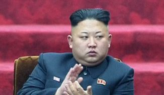 North Korean leader Kim Jong-un. (Associated Press) ** FILE **