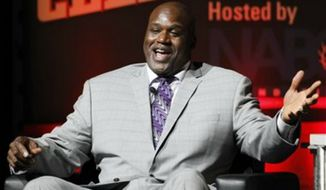 Former NBA star Shaquille O'Neal posted a link to a 9/11 conspiracy theory story on his personal website and Facebook account June 11, 2015. The link was taken down shortly afterward. (Associated Press) ** FILE **