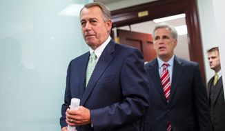 Speaker John A. Boehner and other House Republican leaders have opened the door for a re-vote on fast-track trade legislation that Democrats defeated last week, but President Obama will need to flip dozens of votes. Instead of working on a solution, however, Mr. Obama spent Saturday playing golf and hosting a private concert. (Associated Press)