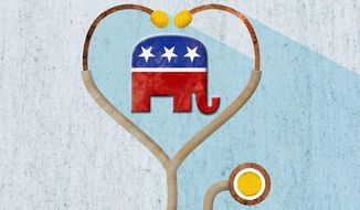 GOP's Healthcare Plan Illustration by Greg Groesch/The Washington Times