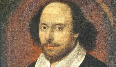 "A California high school teacher believes the works of William Shakespeare should no longer be a Common Core requirement, because ""one white man's view of life"" somehow diminishes other cultural perspectives. (Wikipedia)"
