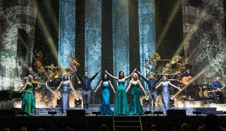 Celtic Woman is bringing its Celtic instruments and high-energy take on traditional Irish music to the Wolf Trap in Vienna, Virginia, this Saturday evening. (Photographs by David Conger)