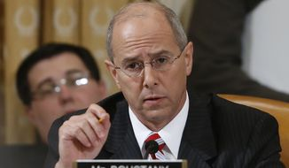"""I think it's a good plan. It's a good start,"" Rep. Charles W. Boustany Jr., Louisiana Republican, said after huddling with the GOP caucus behind closed doors. (Associated Press)"
