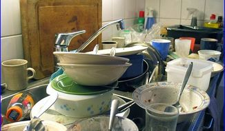 Dirty Dishes, from Wikimedia Commons
