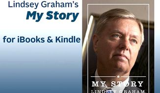 Sen. Lindsey Graham has released his autobiography as a free download.