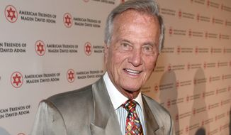 "Pat Boone says the nation needs to re-establish itself in the constitutional values for which the Founding Fathers fought. In fact, he titled his speech ""Call for a New American Revolution: A Manifesto."" (Associated Press)"