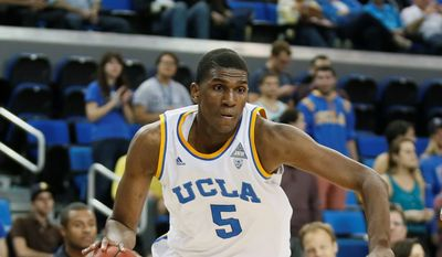 UCLA freshman forward Kevon Looney worked out for the Wizards on Monday in preparation for this week's NBA draft. (Associated Press)