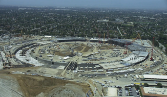 Apple Headquarters Under Construction June 2015