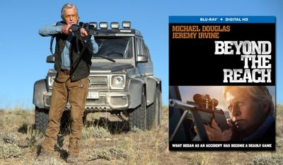 """Michael Douglas (""""Madec"""") stars in Lionsgate Home Entertainment's Beyond the Reach, now on Blu-ray."""