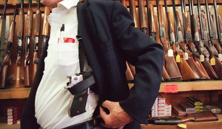 Concealed carry regulations vary widely across the country. Here they are, ranked worst to first.