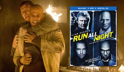 Liam Neeson battles Common in Run All Night from Warner Home Video and now available in the Blu-ray format.