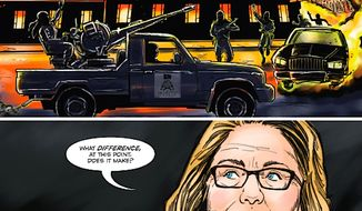 A new Hillary Clinton comic book does not leave out Benghazi (Bluewater Productions