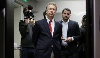 Sen. Rand Paul, Kentucky Republican and presidential candidate, holds the record for the most frugal lawmaker. (Associated Press)