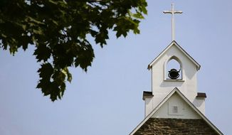Church and steeple (Associated Press file image)
