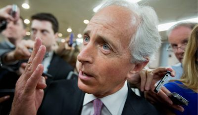 "Sen. Bob Corker, Tennessee Republican, hit Venezuela's ""flawed economic policies and political system,"" just as the U.S. is seeking to repair ties. (Associated Press)"