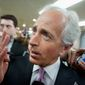 """Sen. Bob Corker, Tennessee Republican, hit Venezuela's """"flawed economic policies and political system,"""" just as the U.S. is seeking to repair ties. (Associated Press)"""