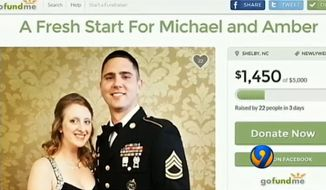 Amber Roof, the sister of alleged Charleston church shooter Dylann Roof has reportedly deleted a GoFundMe page she created in the massacre's aftermath that sought donations for her canceled wedding. (WSOC)