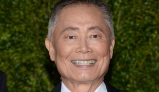 In a Facebook post, George Takei said that blackface is not racist and/or that it is acceptable for an outsider to tell a black man that he is a racist caricature. He also used an analogy that would imply that Justice Thomas is actually white. (Associated Press)