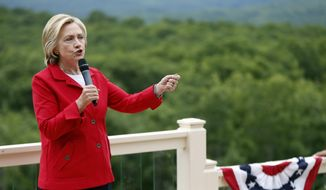 Hillary Rodham Clinton, a former first lady, senator and secretary of state. (Associated Press) ** FILE **