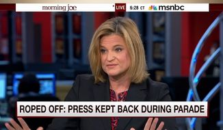 Hillary Clinton's campaign director, Jennifer Palmieri, on Monday hit back at criticism over the media's limited access to the Democratic presidential candidate, despite reporters being corralled at a distance during her appearance at a New Hampshire parade on Saturday. (MSNBC)