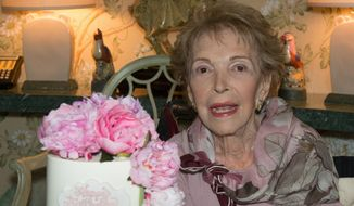 Nancy Reagan turned 94 on Monday. (Photo courtesy of the Ronald Reagan Presidential Foundation)