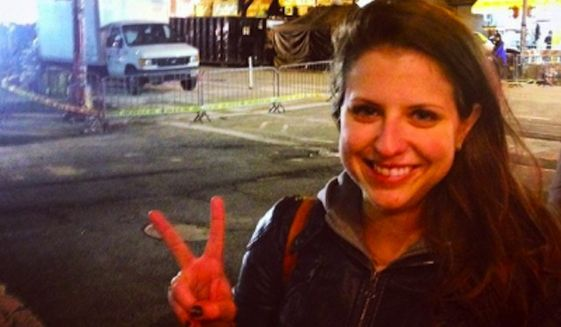 Christina Freundlich, a former communications director for the Iowa Democratic Party who sparked outrage in March after taking a smiling selfie in front of the scene of a deadly New York City fire, has reportedly been hired as a spokeswoman for the Democratic National Committee. (Christina Freundlich via New York Post)
