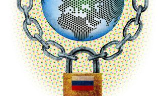 Russian Regulation of the Internet Illustration by Greg Groesch/The Washington Times